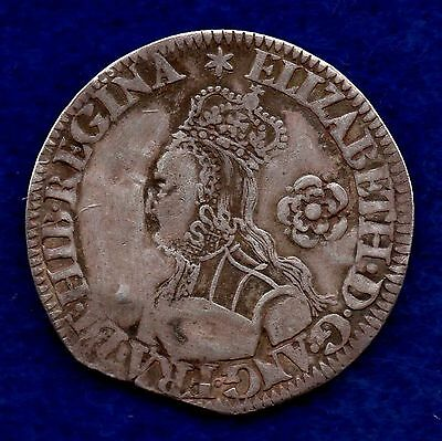 Great Britain, Elizabeth I, 1562 Milled Sixpence (Ref. c5102)