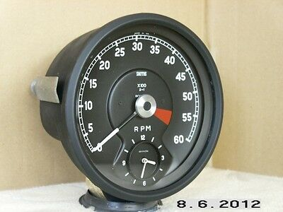 Smiths Jaguar 'e'type Rev Counter  For Electronic Ignition====