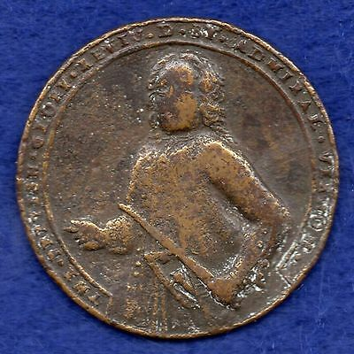 Great Britain, Admiral Vernon, Portobello Medal, 1739 (Ref. c3817)
