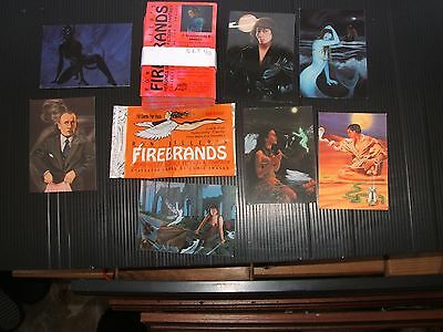 One Complete Set Trade Cards Comic Images Firebrands