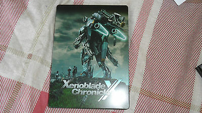 Xenoblade Chronicles X Steelbook From Wii U Nintendo Limited Edition