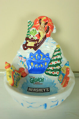 Hershey Dr. Seuss How the Grinch Stole Christmas Bowl. 2000