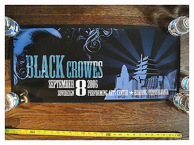 The Black Crowes Poster RICH ROBINSON, READING PENNSYLVANIA 2006 CONCERT SERIES
