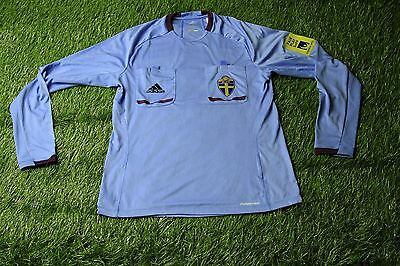 Sweden Referee Match Worn Yes Shirt Jersey Adidas Formotion Original Size M