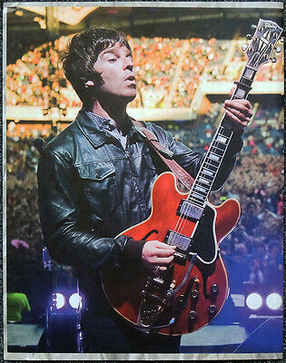 Oasis Noel Gallagher Poster Page . 30 X 23 Cm