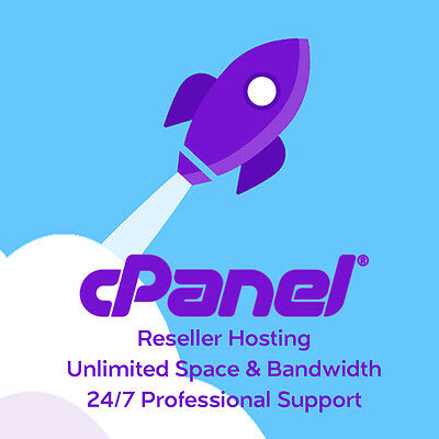 Unlimited cPanel Reseller Web Hosting only $19.99 for 1 Year