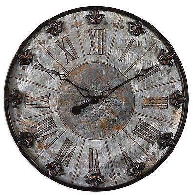 Artemis Antique Wall Clock by Uttermost #06643