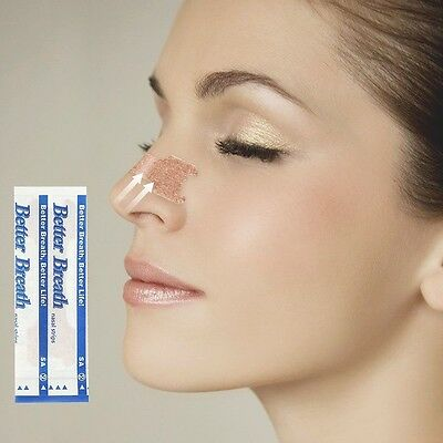 10Pcs/lot Nasal Strips Anti Snoring Patches Sleep Better Right Aid to Stop Snore