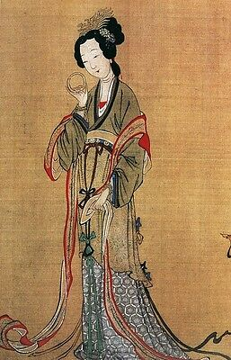 2290 Old/Ancient Chinese Art Painting Stock Photo Image (Hi Res 300dpi .jpg) DVD