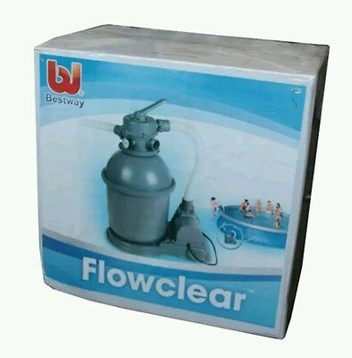 Bestway Pool Sand Filter 800Gph Ideal 15Ft And 18Ft Pools Maintenance