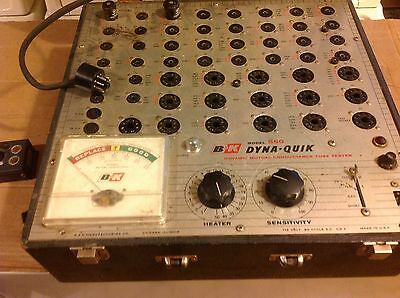 B & K DYNA QUIK Model 550 Mutual Conductance Tube Tester