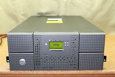 Dell PowerVault TL4000 chassis 4 magazines 48 slots