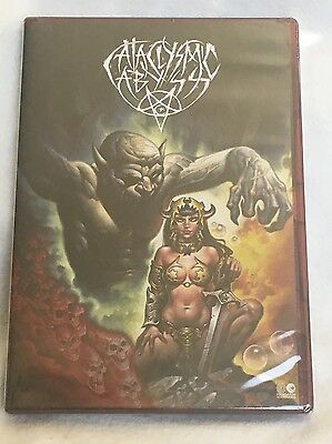 New Sealed Foundation CATACLYSMIC Abyss Skateboard DVD Corey Duffel