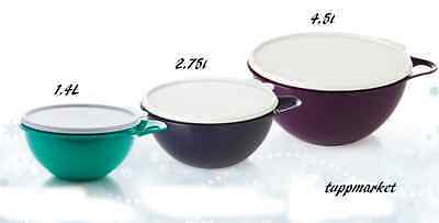 TUPPERWARE That's A Bowl Mix and Store 4.5L +2.75l + 1.4l Amazing Offer