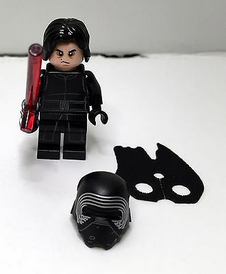 Lego minifigure Star Wars Kylo Ren from 75139 -- BRAND NEW & FREE POSTAGE