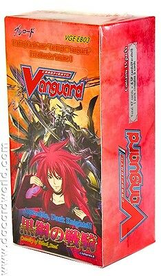 Cardfight! Vanguard VG-EB03 CAVALRY OF STEEL BOOSTER EXTRA 3 SEALED MINT!