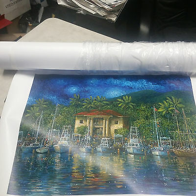 "18 Mil Inkjet Canvas 2"" Core;  42""x 50'/ Matte  Finish Available"