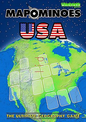 Mapominoes - United States of America USA