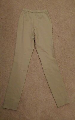 "Ladies Beige Riding Jodhpurs Size 28"" Waist"