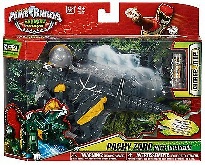 Power Ranger Dino super charge PACHY zord megazord MISB NEW SEALED  RARE