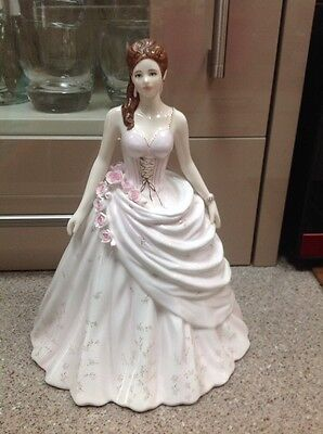 Victoria Royal Worcester Anniversary Figurine Of The Year 2008