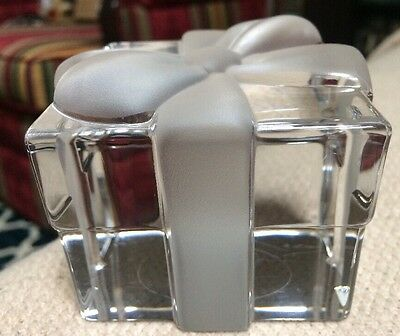 Tiffany & Co Crystal Paper Weight