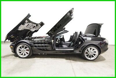 2009 Mercedes-Benz SLR McLaren SLR McLaren 2009 SLR McLaren Roadster Crystal Galaxite Black call Roland Kantor 847-343-2721