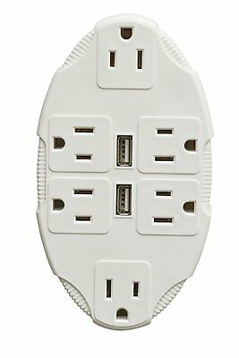 NEW Outlet Multiplier with Usb Ports By Ideaworks BRAND NEW