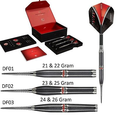 Target Daytona Fire Tungsten Darts Set, Highest Quality, 24 Gram or 26 Gram