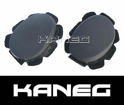 Knee Sliders - Turtle Back Race Track Pucs Motorcycle Moto Motorbike
