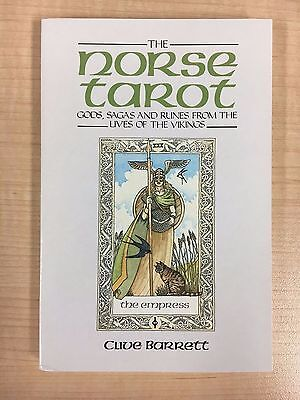 The Norse Tarot Book and Sealed Cards! Clive Barrett 1989