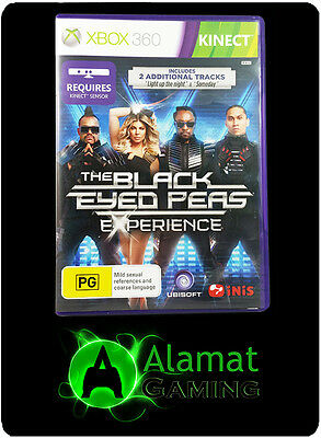 The Black Eyed Peas Experience (Xbox 360 Kinect) Very Good - Fast Post - PAL
