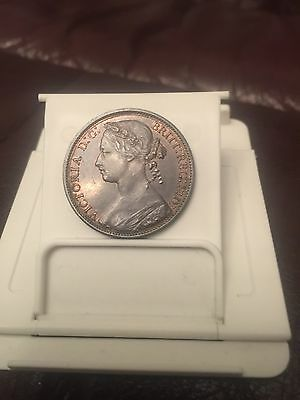 1875h Penny Very Rare In Such Nice Grade