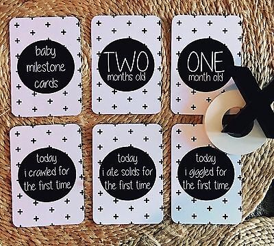 Baby Milestone cards - AGE Cards Only ! 16 Cards Per Pack !