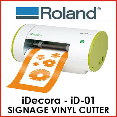 ROLAND SIGNAGE VINYL CUTTER - iDecora iD01 - FIXED DELIVERY - PROTECH CNC