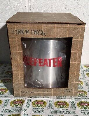 BEEFEATER Gin Promotional 5qt Ice Bucket Made in USA Bar ware