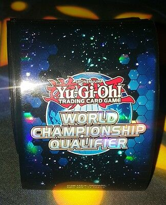 80x Yugioh World Championship Qualifier WCQ 2012 Blue Sleeves