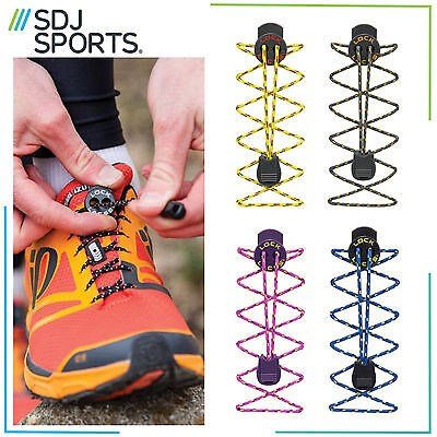 Nathan Trail Lock Laces Running Hiking Cycling Sports Elastic Shoelace Fastening