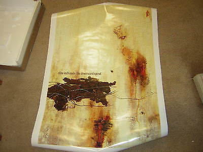 Nine Inch Nails Poster 1994 Downward Spiral Trent Reznor Official Merch Poster