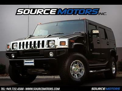 2007 Hummer H2 Base Sport Utility 4-Door 2007 Hummer H2 SUV, Black Leather Interior, Chrome Wheels ONLY 1500 miles
