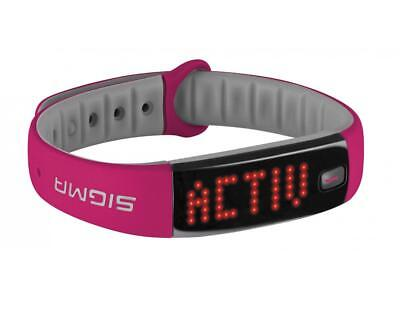 SIGMA Sport watch activo activity tracker berry fucsia