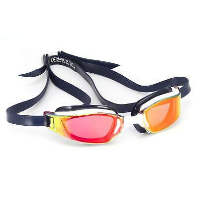 Michael Phelps XCEED Goggles - Titanium Mirror USA Special Edition