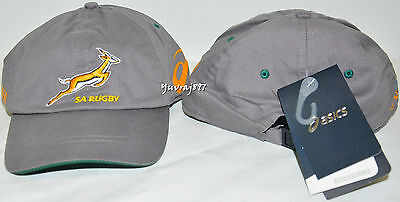 BNWT - Asics South Africa Springboks Cap Rugby Hat