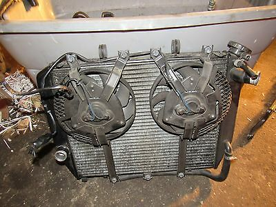 2002 kawasaki zx1200 zx12r radiator and cooling fans