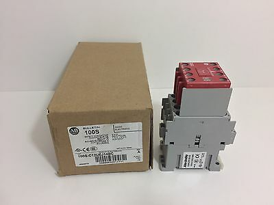 New! Allen-Bradley Safety Contactor 100S-C12Uej14Bc Coil: 24 Vdc