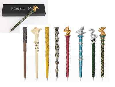 Harry Potter Slytherin Hogwarts Gold Silver Plated Pen Birthday Gift Collection@