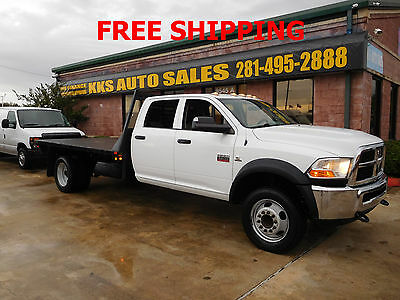 2012 Dodge Ram 5500  2012 RAM 5500 HEAVY DUTY CREW CAB WITH 11 1/2 FT FLATBED