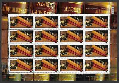 Canada Stamps - Full Pane of 16 - Law Society of Alberta #2228 - MNH
