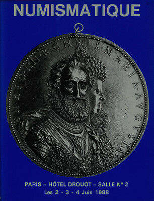 Numismatique  Auction Catalog /paris/ Collection Of French Coins In Gold Silver