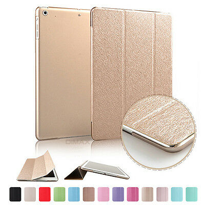 Smart Wake Leather Luxury Colour Slim Case Cover for iPad Air1 2 mini1 2 3 4 Pro